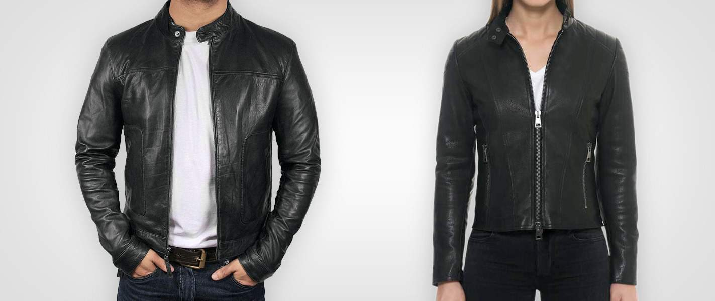 The Moto – Cafe Racer Leather Jackets