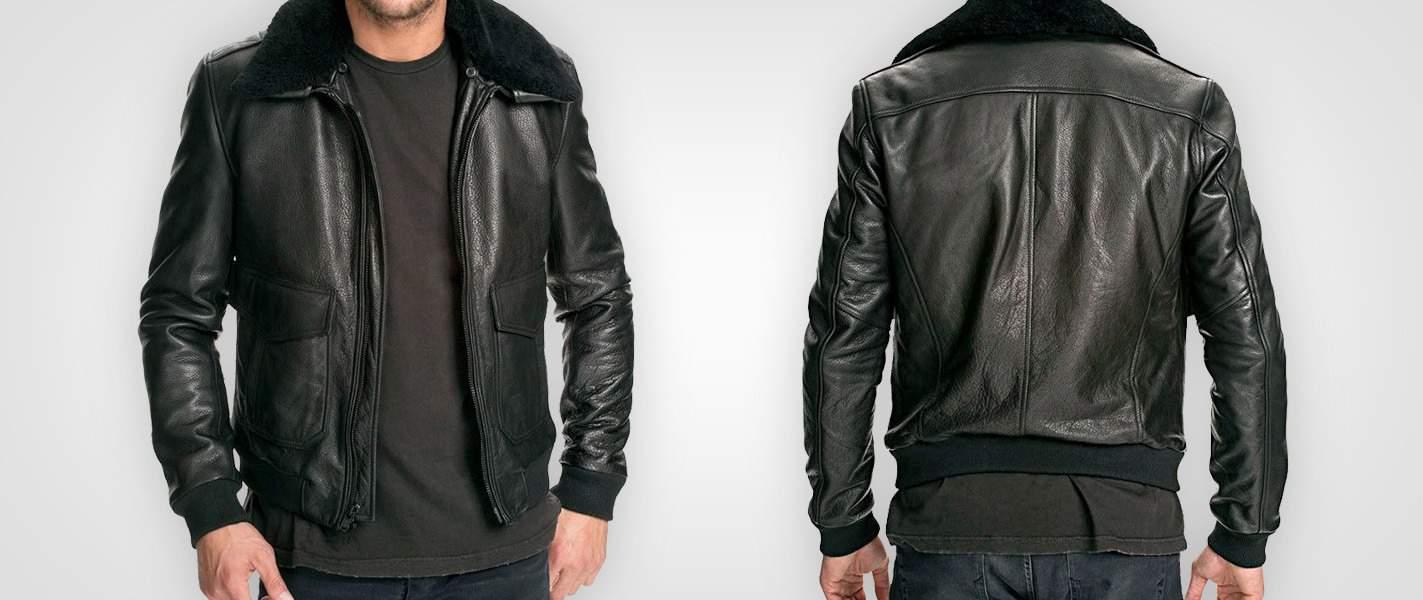 Leather Bomber Jackets