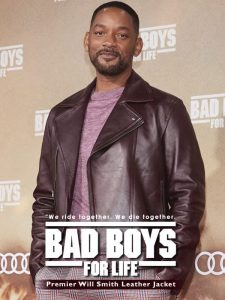 Premier Will Smith Leather Jacket