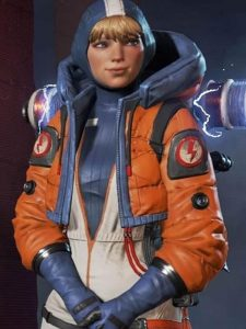 Apex-Legends-Orange-Leather-Jacket