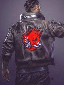 Video Game Cyberpunk 2077 Bomber Jacket